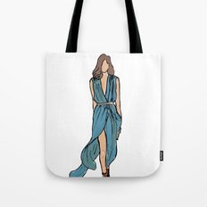 Sea Dress Tote Bag