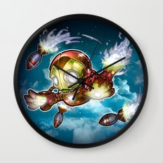 lil' Iron Dude Wall Clock
