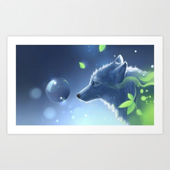 Plant Spirit Art Print