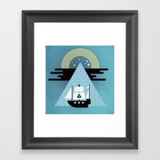 Born to Explore Pt4 Framed Art Print