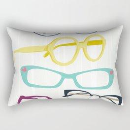 Glasses Rectangular Pillow