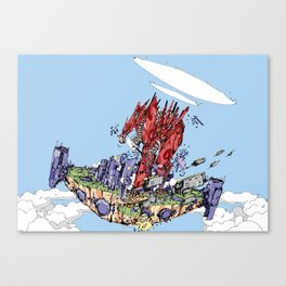 I Bear Grudges Canvas Print