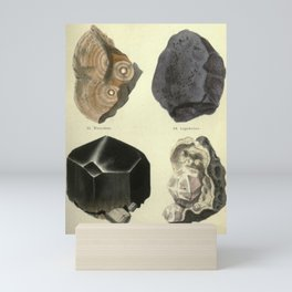 Antique Minerals Mini Art Print