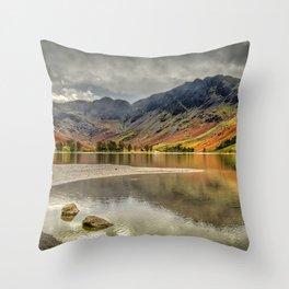 Buttermere Rocks Throw Pillow