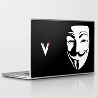 vendetta Laptop & iPad Skins featuring Vendetta by The Vector Studio