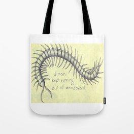 Centipede Deodorant Tote Bag