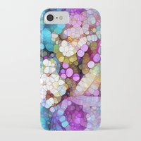 bubbles iPhone & iPod Cases featuring Happy Colors by Joke Vermeer