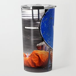 ATTENTION! Here head in action. Travel Mug