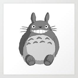 I Love Totoro Art Print