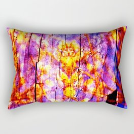 Ultra Violet Symphony of Spring Rectangular Pillow