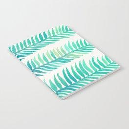 Seafoam Seaweed Notebook