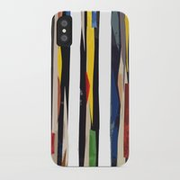 subway iPhone & iPod Cases featuring Subway by Myles Hunt