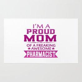 I'M A PROUD PHARMACIST'S MOM Rug