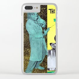 The Wacky World of Dr. Morgus Clear iPhone Case