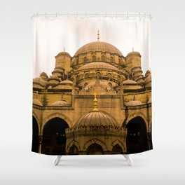 Mosque from above. Shower Curtain