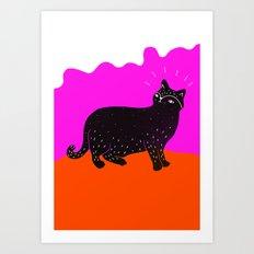 Cat Life 1 Art Print