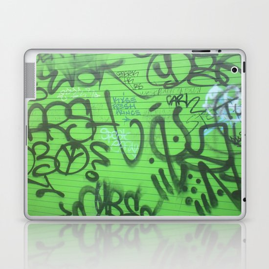 New Orleans Graffitti Laptop & iPad Skin
