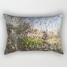 crack Rectangular Pillow