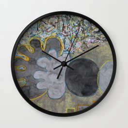 The Beginning of Colors Wall Clock