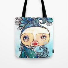 Watergirl Tote Bag