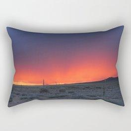 Colorful Horizons Rectangular Pillow