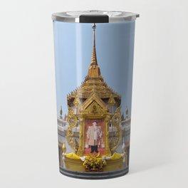 Golden Buddha Temple, Wat Trai Mit, Bangkok, Thailand Travel Mug