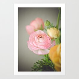 Just one pink Art Print