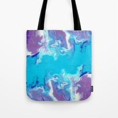 Geometric - Fluid Art  Tote Bag