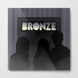The Bronze Metal Print