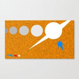 Fast Star Canvas Print