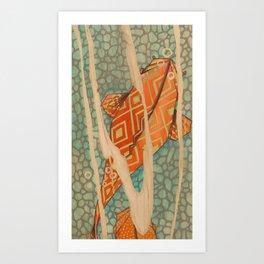 Ro Sham Bo Art Print