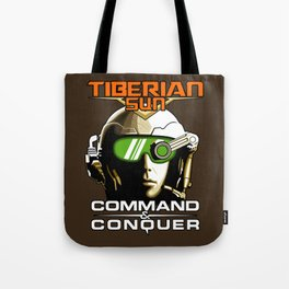 Tiberian Sun Commander Tote Bag