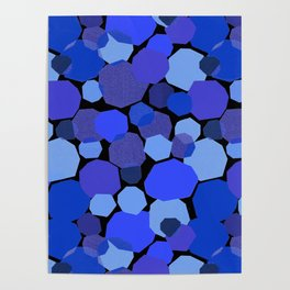 Blue Mica Poster