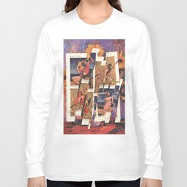 Vintage Tamale-Red Long Sleeve T-shirt