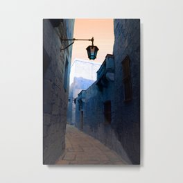 Mdina Blues Metal Print