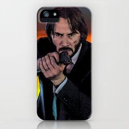 John Wick iPhone Case