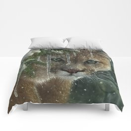 Cougar / Mountain Lion - Frozen Comforters