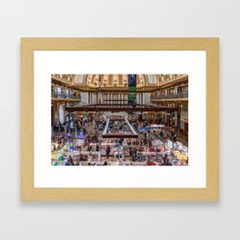 Shopping Fever Framed Art Print