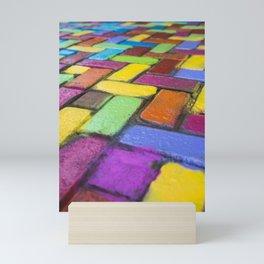 Riot of Colour Mini Art Print
