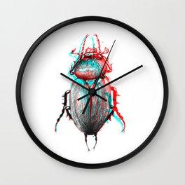 rgb beetle Wall Clock