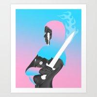 Switchblade Supreme Dream Dominatrix Destroyer • Future Drugs **** Art Print