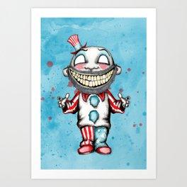 Clown Business Art Print