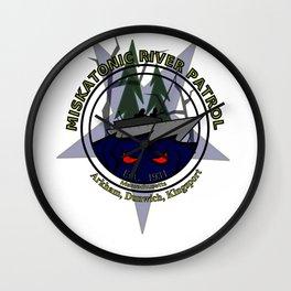 Miskatonic River Patrol Wall Clock