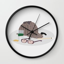 2015: Great Detective Wall Clock