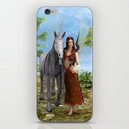 Fairy and Unicorn iPhone Skin