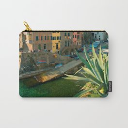 Italy. Cinque Terre - canals Carry-All Pouch
