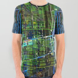 OPERATION AMAZED PALACE weak defenses All Over Graphic Tee