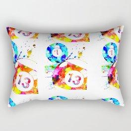 Billiard Balls Rectangular Pillow