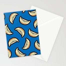 Gyoza Dumpling Pattern Stationery Cards