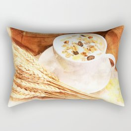 Cereal Food Rectangular Pillow